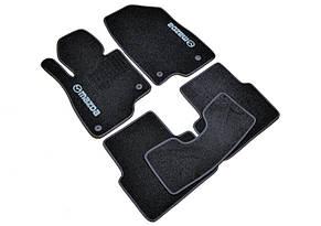 Коврики в салон ворсовые для Mazda 3 / Мазда 3 (2013-) /Чёрные, кт 5шт