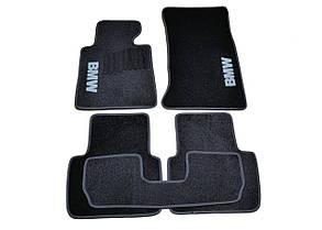 Килимки в салон ворсові AVTM для BMW /БМВ 3 (Е46) (1998-2006) /Чорні, кт-5шт BLCCR1040