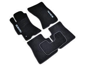 Коврики в салон ворсовые для Subaru Legaсy/Outback (2003-2009) /Субару/Чёрные, кт 5шт