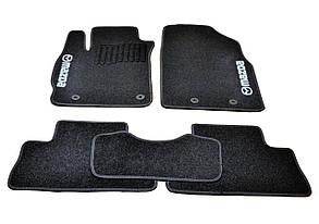 Коврики в салон ворсовые для Mazda CX-7 (/Мазда CX-7 (2006-2012) /Чёрные, кт 5шт