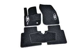 Килимки в салон ворсові AVTM для Ford Mondeo (2014-)/Форд Мондео /Чорні, 5шт BLCCR1162