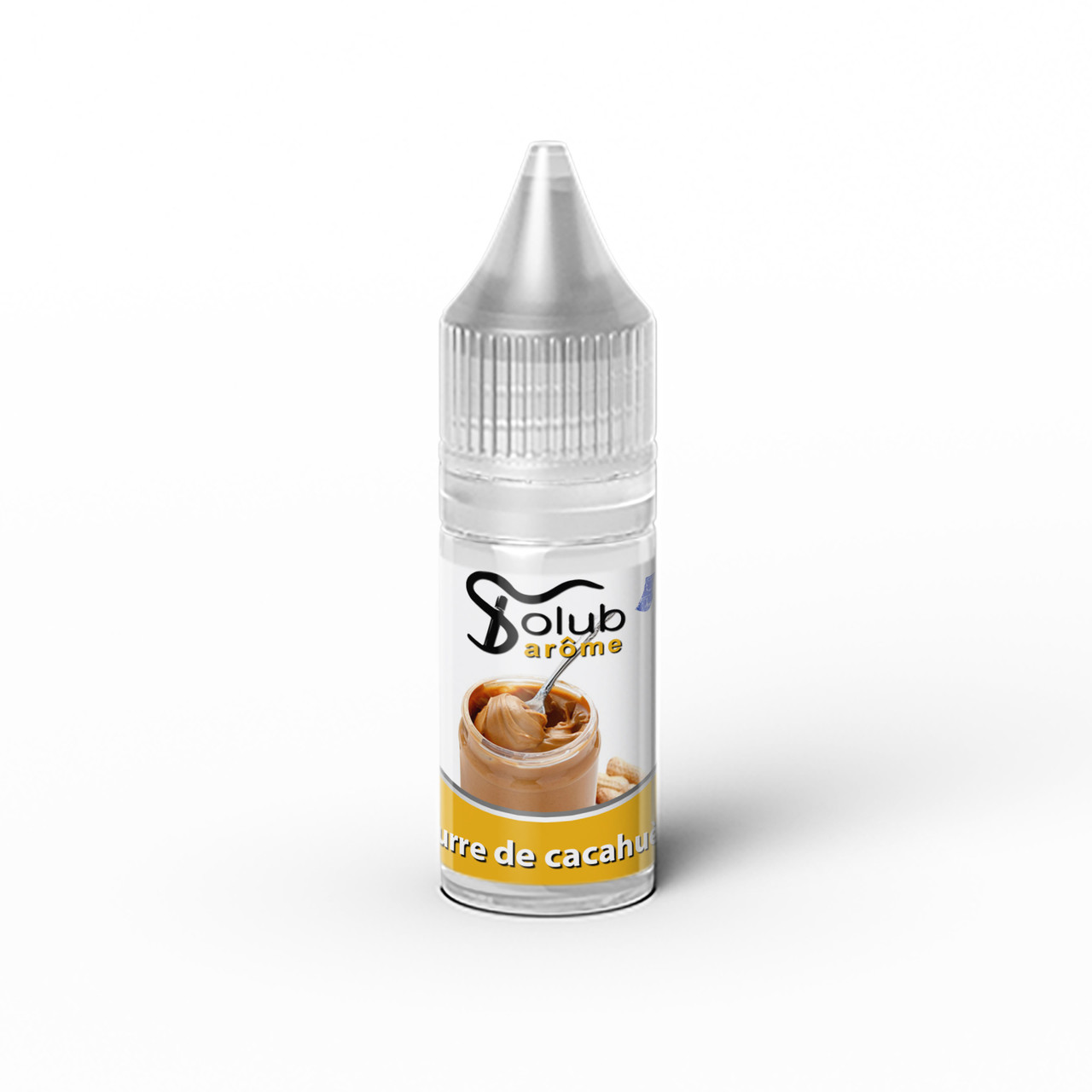 Ароматизатор Solub Arome - Beurre de cacahuète (Арахисовое масло), 10 мл.