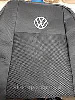 Чехлы на Фольксваген Кадди (полный комплект) ( Volkswagen Caddy )3 5 мест