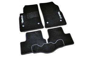 Килимки в салон ворсові AVTM для Opel Astra J/Опель Астра Дж (2009-) /Чорні 5шт BLCCR1441