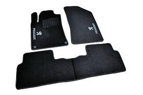 Килимки в салон ворсові AVTM для Пежо 508/ Peugeot 508 (2010-) /Чорні 5шт BLCCR1481