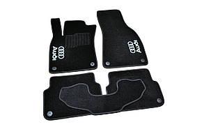 Килимки в салон ворсові AVTM для Audi /Ауді A6 С6 (2006-2011) 2,7 D;3,0 D; 2,4 І /Чорні 5шт