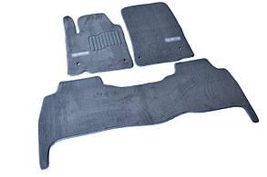 Килимки в салон ворсові AVTM для Lexus/Лексус LХ570 (2007-2012) /Сірі, Premium GRLX1304