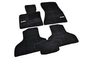 Килимки в салон ворсові AVTM для BMW /БМВ X5/X6 (F15/F16) (2013-) /Чорні Premium BLCLX1059