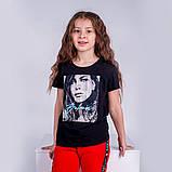 Футболка для девочки Good Girls, белая и черная, фото 6
