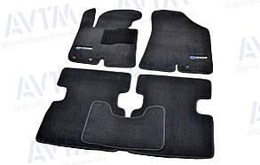 Килимки в салон ворсові AVTM для Hyundai IX35 (2010-)/Хюндай Ай Ікс 35 /Чорні Premium BLCLX1229