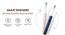 Зубна щітка Xiaomi Soocas SO EX3 дві насадки в подарунок, фото 3