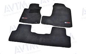 Килимки в салон ворсові AVTM для Honda CR-V (2006-2011)/ Хонда СРВ /Чорні Premium BLCLX1206