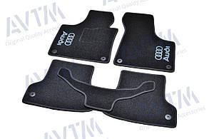 Килимки в салон ворсові AVTM для Audi /Ауді A3 (2003-2012) 5дв. /Чорні 5шт BLCCR1012