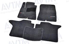Килимки в салон ворсові AVTM для Mitsubishi Pajero IV (2006-) 5 дв. /Чёрные Premium BLCLX1400