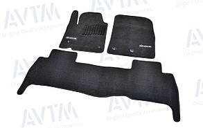 Килимки в салон ворсові AVTM для Lexus/Лексус LХ570 (2007-2012) /Чорні Premium BLCLX1304