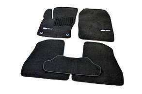 Килимки в салон ворсові AVTM для Ford Focus III (2011-)/Форд Фокус 3 /Чорні Premium BLCLX1152