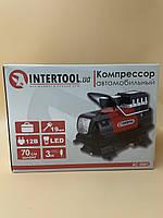 Компрессор автомобильный Intertool AC-0001