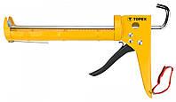 Пистолет для герметиков TOPEX, трещотка