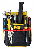 Кишені TOPEX для інструменту, 11 гнізд
