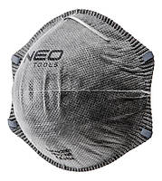 Пилезахисний напівмаска NEO з активованим вугіллям FFP2, 3 шт