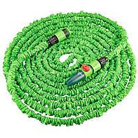 Шланг для полива Verto растягивающийся, набор с оросителем