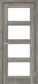 Двери межкомнатные ОмиС Рино 10 стекло сатин NL дуб Денвер, 600