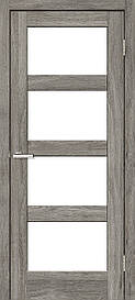 Двери межкомнатные ОмиС Рино 10 стекло сатин NL дуб Денвер, 700
