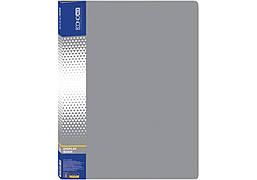 Папка для проспектов А4 EconoMix 10 файлов Е30601-10 серый