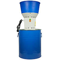 Зернодробилка Беларусь ДЗ-50 (бак 50 литров) зернодробарка с баком, кормоизмельчитель DZ50 (млин мукомолка)