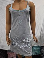 Ночная рубашка для кормления грудью, большой размер код 55684, фото 1