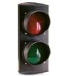 Светодиодная лампа два цвета (красный+зеленый), 100 мм