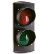 Лампа SEMLED (светодиодная, два цвета красный+зеленый), 100 мм