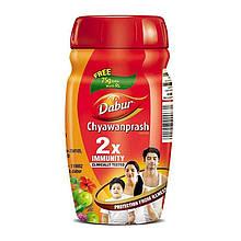 Чаванпраш Подвійний імунітет, 500 г + 75 г, виробник Дабур; Chyawanprash DOUBLE Immunity, Dabur