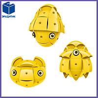 Магнитный конструктор желтый Geomag KOR Pantone