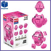 Магнитный конструктор розовый Geomag KOR Pantone Pink