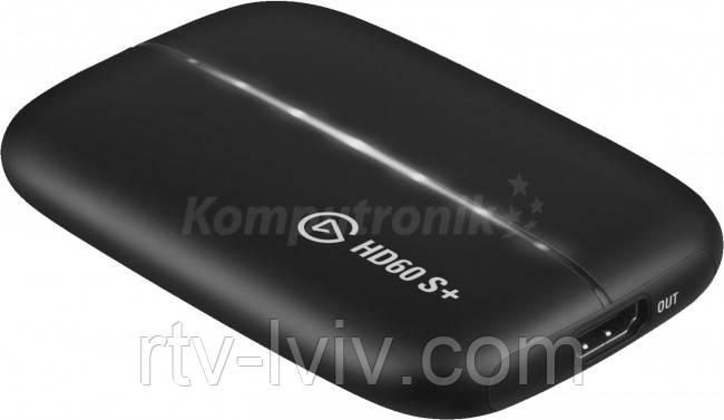 Пристрій відеозахоплення Elgato Game Capture HD60S+