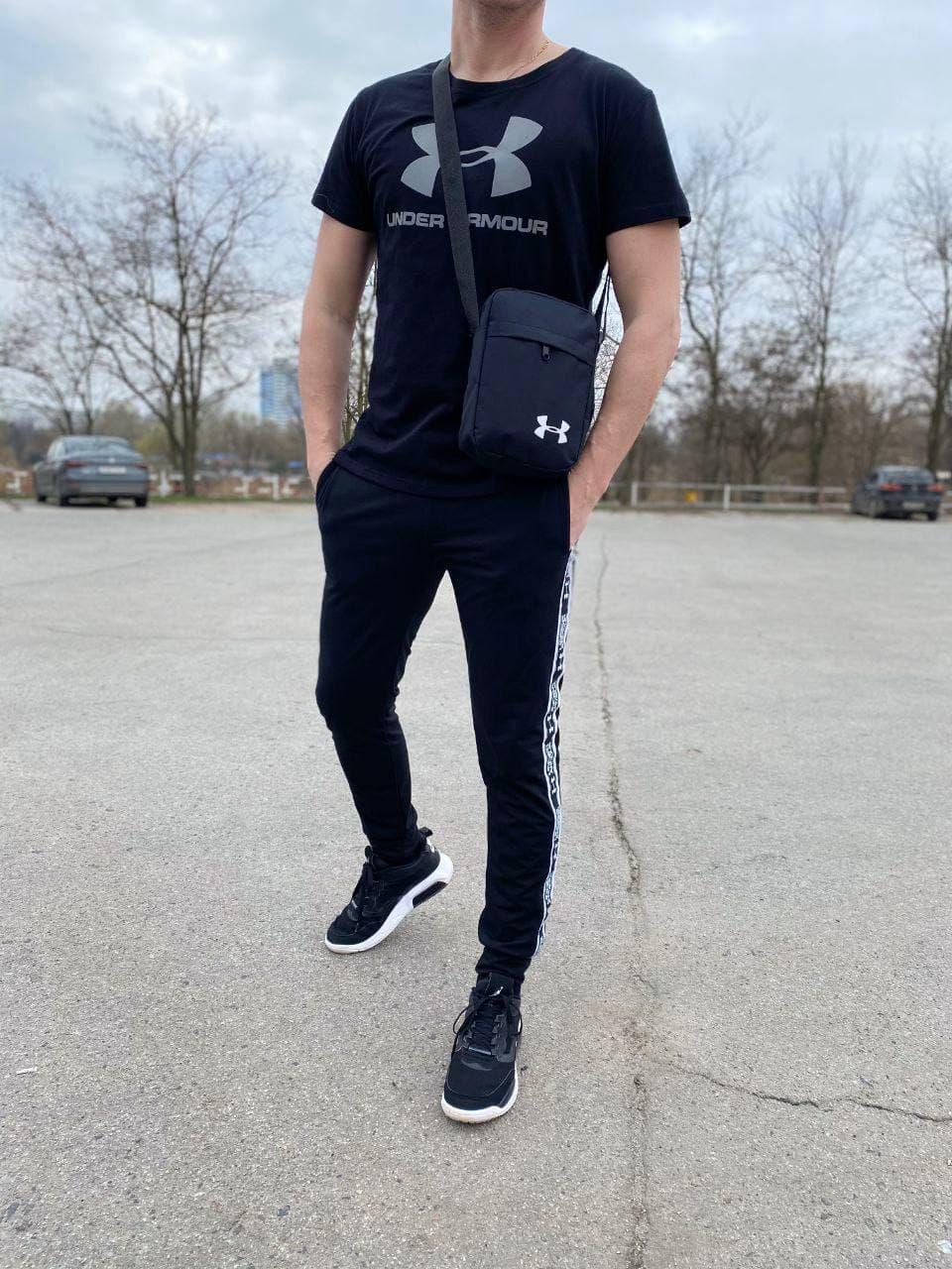 Чоловічий спортивний костюм (футболка і штани) Jaunt