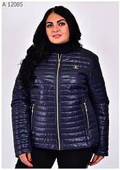 Стильная женская куртка демисезонная размеры 42-68