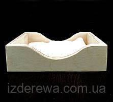 """Салфетница деревянная """"Тахо"""" бланже"""