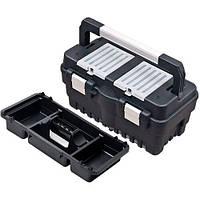 """Ящик для інструментів з лотком 18.5"""" 462х256х242мм, металеві замки 18.5"""" Haisser (105861)"""