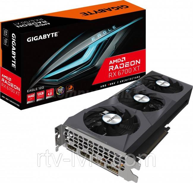 Видеокарта Gigabyte Radeon RX 6700 XT EAGLE 12GB OC