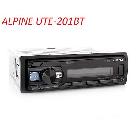 Автомагнітола Alpine UTE-201BT, фото 2