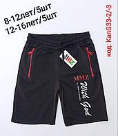 Шорты подростковые трикотажные для мальчика MMZ 12-16 лет, цвет уточняйте при заказе, фото 1