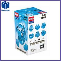 Магнитный конструктор Геомаг Кор голубой Geomag KOR Pantone Blue