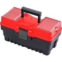 """Ящик для інструментів з лотком 15"""", 374х198х189 мм Haisser (105867)"""