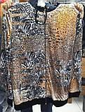 Велюровый женский спортивный турецкий костюм EZE купить разм 60,62,64, супербатал., фото 2