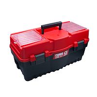 """Ящик для інструментів з лотком 18.5"""" 462х256х242 мм, Haisser (105868)"""