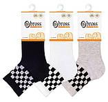 Набор 3 шт. Детские носки их хлопка с рисунком Bross полоска, фото 3