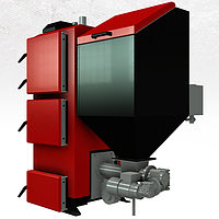 Котел на пеллетах Альтеп  КТ-2Е-SH 17 кВт с автоматической подачей топлива, фото 1