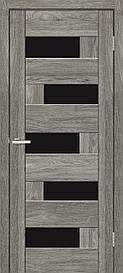 Двери межкомнатные ОмиС Рино 16 стекло черное